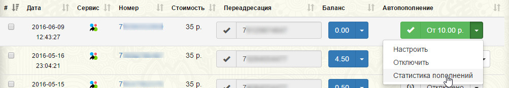 Как сделать сервис по смс активации